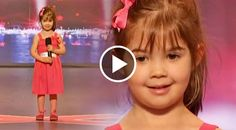 """This little girl has melted our hearts with her adorable rendition of the Disney tune we all know and love, """"Somewhere Out There"""". Four-year-old Kaitlyn...."""