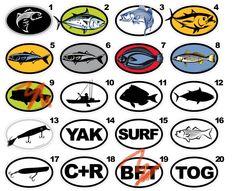 fish decals | yak decals - Kayakfishingstuff.com Kayak Fishing Community Forums Jet Ski Fishing, Kayak Fishing, Kayak Decals, Kayaks, Outdoor Fun, Coastal, Outdoors, Community, Ideas