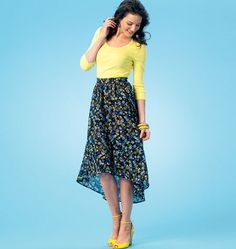 Learn to Sew, Misses' Skirts, K4061 http://kwiksew.mccall.com/k4044-products-48362.php?page_id=3013