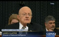 "DNI Chief Clapper Calls Trump - Says He Was ""Dismayed"" by Recent Intel Leaks --- Really?"