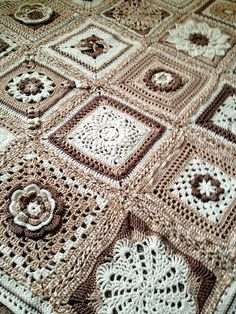 Afghan for Katelyn (links to square patterns) by elle464