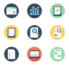 150 free vector icons of Reports and Analytics designed by Vectors Market Web Design Tools, Tool Design, Vector Icons, Vector Free, Computer Icon, Free Icon Packs, Icon Font, Flat Color, Typo
