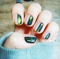 nail art glass instagram #manucure #glassnails #vernis #tendance #beauté #monvanityideal
