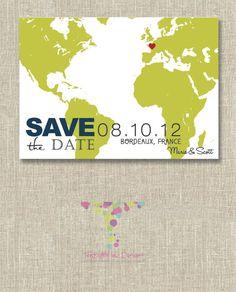 save the date idea, love it!