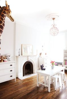 White playroom