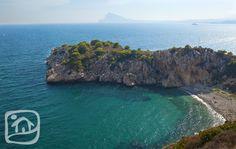 Secrets of the Mediterranean Sea...The Barra Grande Cove in #Altea. www.abahanavillas.com