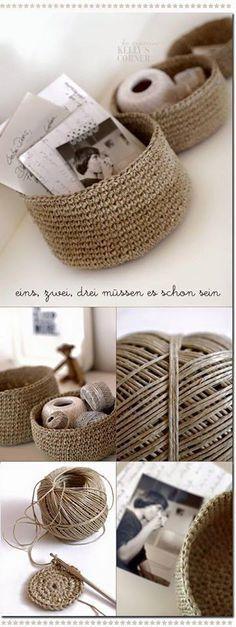 cordages au fibre naturelle