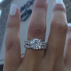 Tacori solitaire engagement ring