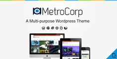 MetroCorp -  A Multipurpose Business Theme