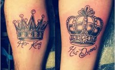 Corona tattoo