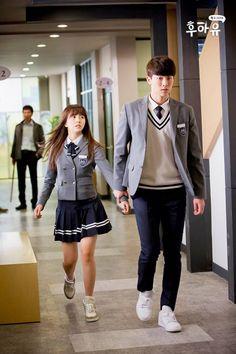 Who Are You: School 2015 Lee Eun-bi & Han Yi-ahn