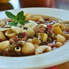 """Best Italian Sausage Soup 
