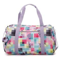 Itska Duffle Bag in K Squared #Kipling #KiplingSweeps