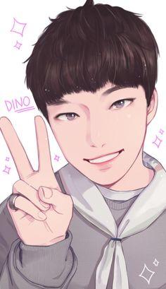 #dino #chan #디노 #찬 #seventeen #세븐틴 #kpop #fanart