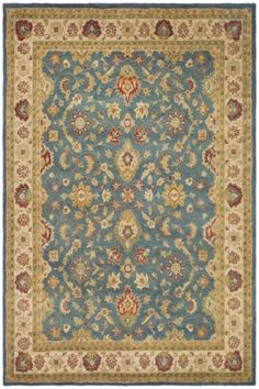 Safavieh Antiquities AT-15 Blue / Beige (A) Area Rugs