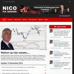 webdesign pagina voor Nicobakker