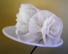 Simple white rose by PETRO VERMEULEN #millinery #hats #HatAcademy