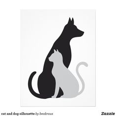 Dog Silhouette Letterhead - Custom Dog Silhouette Letterhead ...