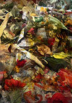 Brixton Bowie, (Trembling Flowers FIVE), David Bowie Tribute, 2016, Editions of 10 - Big Fat Arts | BFA Gallery | Czar Catstick - 1