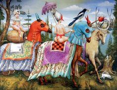 """AGNES BOULLOCHE  """"Florilège (Antología)"""", 65 x 54 cm., 2010"""