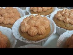 Cupcakes de Calabaza - YouTube