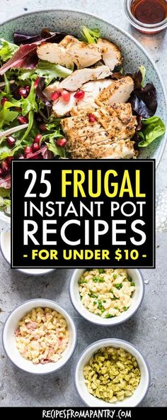 Each of the 25 Cheap Instant Pot Recipes her costs under $10 to make! The Instant Pot makes it SO easy to feed your family great-tasting meals on a budget. Main dishes, soups, breakfasts and desserts included. Click through to get these frugal Instant Pot recipes!! #instantpot #instantpotrecipes #cheapinstantpotrecipes #frugalinstantpotrecipes #pressurecookerrecipes #cheappressurecookerrecipes #cheapinstantpotmeals #frugalinstantpotmeals #frugalinstantpotdinners #10dollardinners Brunch Recipes, Healthy Dinner Recipes, Appetizer Recipes, Healthy Food, Best Instant Pot Recipe, Instant Pot Dinner Recipes, Cheap Instant Pot, Pots, Homemade Food Gifts