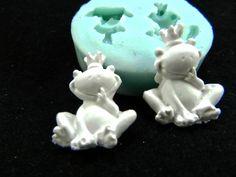* Silikonform Froschkönig* von Luflom-Design auf DaWanda.com