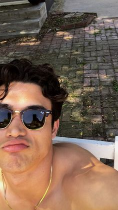 charles melton selfie