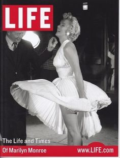 Life Magazine Cover Featuring Miss Monroe