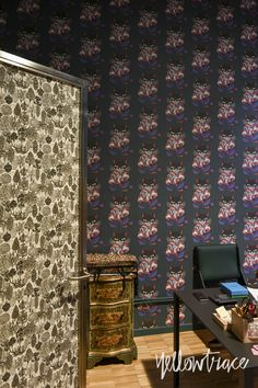 For more inspiration follow on IG: THEGYPSETTER  That wallpaper!  Milan Design Week 2016 Highlights, La Double J Pop Up, Photo © Nick Hughes | #Milantrace2016