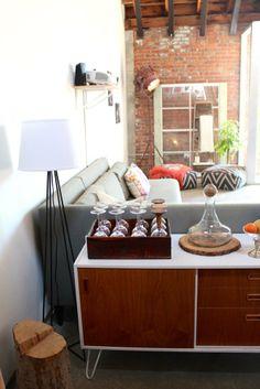 Austin & Jenny's Sunny LA Loft House Tour | Apartment Therapy