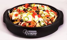 NuWave Nachos - Nuwave Cooking Club (Use soy meat crumbles) Convection Oven Recipes, Nuwave Oven Recipes, Oven Cooking, Healthy Cooking, Healthy Recipes, Cooking Fails, Cooking Ideas, Cooking Pumpkin, Cooking Turkey