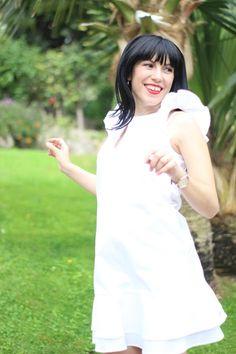 Hanitablog  SS17  whitemood - The Fashion Dance by Ornella Picciau  Weekend-off per Ornella Picciau in quel di Monte Carlo 🇮🇩 Total look  Hanita SS17  Mini ... 7169a0f4594b