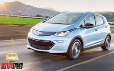 As many of this reading this may have already heard, the Chevy Bolt EV has been chosen as the 2017 Motor Trend Car of the Year. An interesting choice, and as the article accompanying the announcement shows, one based on enthusiasm the testers/judges had for the model. https://cleantechnica.com/2016/11/19/motor-trend-picks-chevy-bolt-2017-car-year/