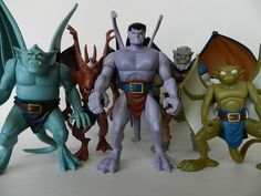 gargoyles show toys Cartoon Live, Toy Story Figures, Childhood Toys, Childhood Memories, Classic Toys, Classic Films, Custom Action Figures, Disney Toys, Historical Pictures