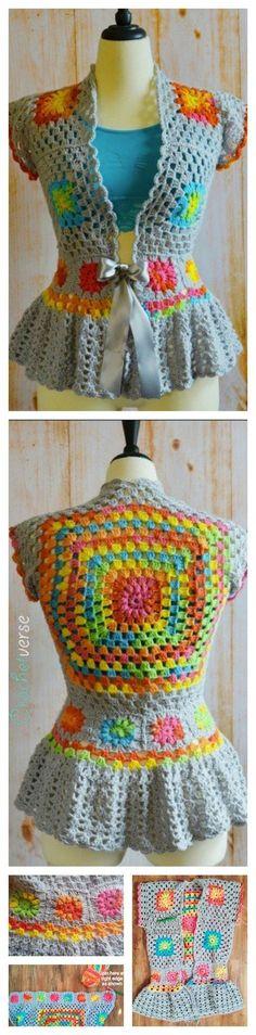 Cute Crocheted Jacket