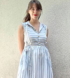 Aline has made the most beautiful #cwhoneycombdress #honeycombdress #cocowawapatterns #sewing Pdf Sewing Patterns, Honeycomb, Most Beautiful, Shirt Dress, Summer Dresses, How To Make, Shirts, Fashion, Shirtdress