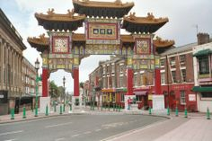 Liverpool's Chinese arch