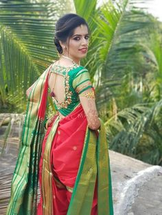 Buy here Marathi Saree, Marathi Bride, Beautiful Girl Indian, Most Beautiful Indian Actress, Beautiful Women, Beauty Full Girl, Beauty Women, Indian Beauty Saree, Indian Sarees
