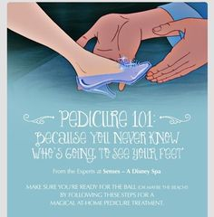 Pedicure - Step By Step. Double click to see full view.
