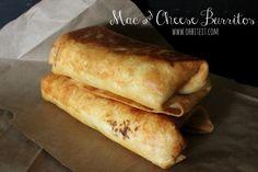 ~Mac-n-Cheese Burritos! | Oh Bite It