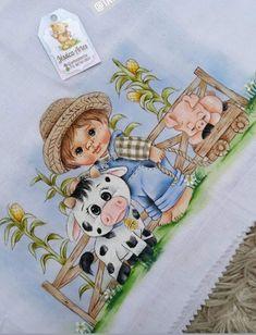 Quilt Baby, Deco Mesh, Safari, Cow, Teddy Bear, Baby Shower, Watercolor, Cartoon, Blanket