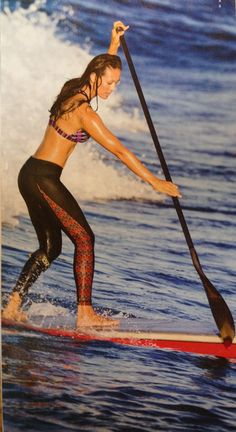 Athleta swim tights, what i need to wear if I get the kayaking tour guide job! Sup Stand Up Paddle, Sup Paddle, Sup Racing, Sup Girl, Kayak Camping, Best Swimsuits, Surfs Up, Paddle Boarding, Water Sports