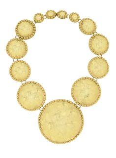 El collar Grecia de Daniel Espinosa - Corazón de Joyas