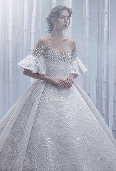 443dcec17b2 Dubai-based Filipino designer Michael Cinco s Spring Summer 2019 bridal  couture gowns