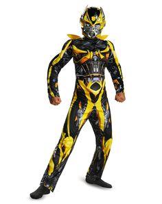 Transformers Bumblebee Muscle Child Costume – Spirit Halloween