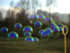 Blowing bubbles using V-Ray Metaballs « MintViz Workshop