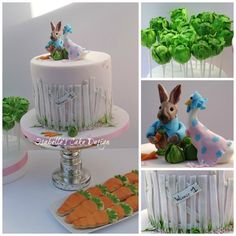 Beatrix Potter First Birthday - Cake by Isabelle's Cake Design
