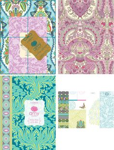 amy butler stationery
