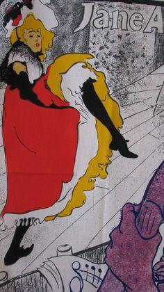 Toulouse Lautrec's Jane Avril.   ~Repinned Via Jennifer Gillespie